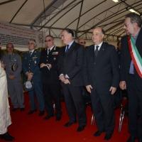 Foto Nicoloro G. 04/10/2013 Ravenna Inaugurazione della seconda più grande Moschea d' Italia dopo quella di Roma. nella foto Ashraf Gareeb e le autorità cittadine