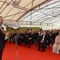 Foto Nicoloro G. 04/10/2013 Ravenna Inaugurazione della seconda più grande Moschea d' Italia dopo quella di Roma. nella foto Fabrizio Matteucci, sindaco di Ravenna