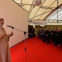 Foto Nicoloro G. 04/10/2013 Ravenna Inaugurazione della seconda più grande Moschea d' Italia dopo quella di Roma. nella foto Abdelfattah Mouro
