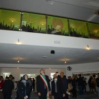 Foto Nicoloro G. 04/10/2013 Ravenna Inaugurazione della seconda più grande Moschea d' Italia dopo quella di Roma. nella foto Fabrizio Matteucci visita la Moschea