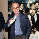 Foto Nicoloro G.   02/09/2021   Fusignano ( Ra )   Inaugurazione della mostra dedicata ad Arrigo Sacchi dal titolo  ' Oltre il sogno. L' emozione del calcio totale di Arrigo Sacchi '. nella foto Arrigo Sacchi.