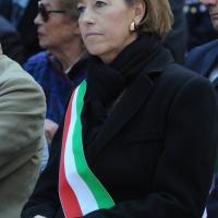 Foto Nicoloro G. 21/03/2011 Milano Inaugurazione alla presenza del Capo dello Stato della nuova sede della Regione Lombardia. nella foto Letizia Moratti