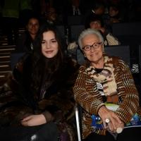 Foto Nicoloro G.  04/12/2013  Milano   Trentunesima edizione del '' Milano International Ficts Fest ''.  nella foto Rosita Missoni è intervenuta alla serata con la nipote.