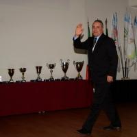 Foto Nicoloro G.  04/12/2013  Milano   Trentunesima edizione del '' Milano International Ficts Fest ''.  nella foto l'ex calciatore Xristo Stoichkov, premiato con la Ghirlanda d' Onore.