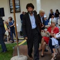 Foto Nicoloro G.  19/09/2015  Ravenna    Quinta edizione di ' Dante 2021 ' che celebra i 750 anni dalla nascita del Sommo Poeta. nella foto il filosofo Massimo Cacciari, che e' intervenuto sul tema ' Toccare il Dio: mistica dantesca '
