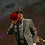 Foto Nicoloro G.   Cervia (RA)   22° edizione de La Milanesiana che per il secondo anno sbarca in Emilia-Romagna e fa tappa a Cervia. nella foto il cantante Elio.
