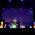Foto Nicoloro G.   Cervia (RA)   22° edizione de La Milanesiana che per il secondo anno sbarca in Emilia-Romagna e fa tappa a Cervia. nella foto il cantante Elio tra i suoi orchestrali.