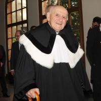 Foto Nicoloro G. 27/10/2010 Milano  Nell' aula magna dell' Universita' Cattolica cerimonia di inaugurazione dell' anno accademico 2010-2011. nella foto Julien Ries
