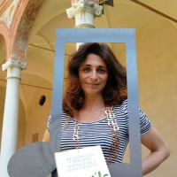 """Foto Nicoloro G. 05/06/2010 Cremona Primo Festival TRA Letteratura e Musica """" Le corde dell ' anima """" . nella foto Benedetta Cibrario"""