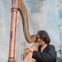 """Foto Nicoloro G.   05/06/2010  Cremona  Primo Festival TRA Letteratura e Musica """" Le corde dell ' anima """" . nella foto Cecilia Chailly"""