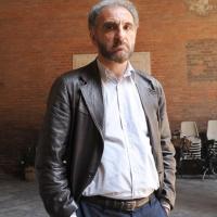 """Foto Nicoloro G.  06/06/2010  Cremona  Primo Festival TRA Letteratura e Musica """" Le corde dell ' anima """" . nella foto Michele Mari"""