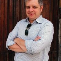 """Foto Nicoloro G. 02/06/2013 Cremona Terza ed ultima giornata della quarta edizione di """" Le Corde dell' Anima """", festival di musica e letteratura di Cremona. nella foto Paul Harding"""