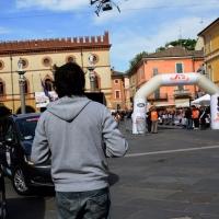 Foto Nicoloro G. 16/05/2014  Ravenna    La 32° edizione della 1000 Miglia, con le sue 435 auto, passa da Ravenna. nella foto per la prima volta alla 1000 Miglia viene adottato un sistema di riprese con un drone.