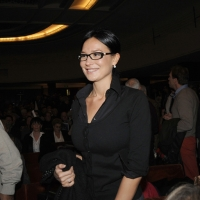 """Foto Nicoloro G. 14/11/2010, Milano, Manifestazione promossa dal PdL al teatro Nuovo """" Dalla parte del Cavaliere """". nella foto Nicole Minetti"""