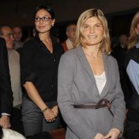 """Foto Nicoloro G. 14/11/2010, Milano, Manifestazione promossa dal PdL al teatro Nuovo """" Dalla parte del Cavaliere """". nella foto Laura Ravetto"""