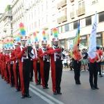Foto Nicoloro G.   29/06/2019   Milano    Manifestazione con corteo del Gay Pride. nella foto la banda musicale che ha accompagnato tutto il corteo con le sue note.
