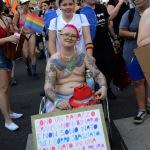 Foto Nicoloro G.   29/06/2019  Milano   Manifestazione con corteo del Gay Pride. nella foto manifestanti con cartelli.