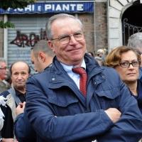 Foto Nicoloro G.  16/10/2010 Roma  Manifestazione nazionale Fiom-CGIL con cortei e comizio finale in piazza San Giovanni. nella foto Guglielmo Epifani