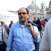 """Foto Nicoloro G. 12/10/2013 Roma Manifestazione nazionale in difesa della Costituzione, """" La via maestra """", organizzata dalla FIOM. nella foto Antonio Ingroia"""