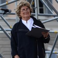 """Foto Nicoloro G. 12/10/2013 Roma Manifestazione nazionale in difesa della Costituzione, """" La via maestra """", organizzata dalla FIOM. nella foto Sandra Bonsanti"""