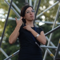 """Foto Nicoloro G. 12/10/2013 Roma Manifestazione nazionale in difesa della Costituzione, """" La via maestra """", organizzata dalla FIOM. nella foto Don Luigi Ciotti"""