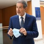 Foto Nicoloro G.   21/08/2020   Rimini    Quarta giornata del Meeting di CL 2020, che in questa edizione ha per titolo ' Privi di meraviglia, restiamo sordi al sublime '. nella foto il governatore della Sicilia Nello Musumeci.