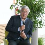 Foto Nicoloro G.   21/08/2020   Rimini    Quarta giornata del Meeting di CL 2020, che in questa edizione ha per titolo ' Privi di meraviglia, restiamo sordi al sublime '. nella foto il vicepresidente di Forza Italia Antonio Tajani.