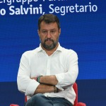 Foto Nicoloro G.   21/08/2020   Rimini    Quarta giornata del Meeting di CL 2020, che in questa edizione ha per titolo ' Privi di meraviglia, restiamo sordi al sublime '. nella foto il segretario Federale Lega Matteo Salvini .