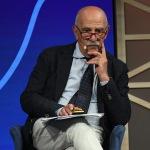 Foto Nicoloro G.   19/08/2020   Rimini  Seconda giornata del Meeting di CL 2020, che in questa edizione ha per titolo ' Privi di meraviglia, restiamo sordi al sublime '. nella foto Gian Carlo Blangiardo, presidente ISTAT.