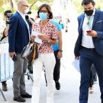 Foto Nicoloro G.   20/08/2020   Rimini  Terza giornata del Meeting di CL 2020, che in questa edizione ha per titolo ' Privi di meraviglia, restiamo sordi al sublime '. nella foto Mariastella Gelmini, capogruppo di Forza Italia alla Camera.