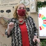 Foto Nicoloro G.   20/08/2020   Rimini  Terza giornata del Meeting di CL 2020, che in questa edizione ha per titolo ' Privi di meraviglia, restiamo sordi al sublime '. nella foto la viceministra Emanuela Claudia Del Re.