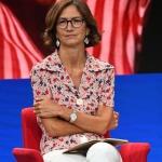 20/08/2020   Rimini  Terza giornata del Meeting di CL 2020, che in questa edizione ha per titolo ' Privi di meraviglia, restiamo sordi al sublime '. nella foto Mariastella Gelmini, capogruppo di Forza Italia alla Camera.
