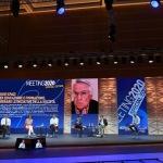 Foto Nicoloro G.   20/08/2020   Rimini  Terza giornata del Meeting di CL 2020, che in questa edizione ha per titolo ' Privi di meraviglia, restiamo sordi al sublime '. nella foto in collegamento video Ferruccio De Bortoli, presidente Editrice Longanesi, e Simona Malpezzi, sottosegretaria di Stato.
