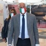 Foto Nicoloro G.   20/08/2020   Rimini  Terza giornata del Meeting di CL 2020, che in questa edizione ha per titolo ' Privi di meraviglia, restiamo sordi al sublime '. nella foto il deputato di Fratelli d' Italia Fabio Rampelli