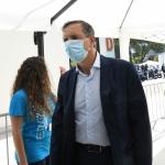 Foto Nicoloro G.   20/08/2020   Rimini  Terza giornata del Meeting di CL 2020, che in questa edizione ha per titolo ' Privi di meraviglia, restiamo sordi al sublime '. nella foto Luigi Gubitosi, a.d. Telecom.