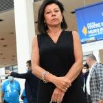 Foto Nicoloro G.   20/08/2020   Rimini  Terza giornata del Meeting di CL 2020, che in questa edizione ha per titolo ' Privi di meraviglia, restiamo sordi al sublime '. nella foto la ministra Paola De Micheli