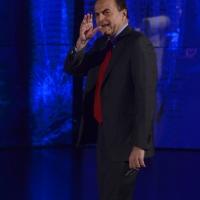 """Foto Nicoloro G.   16/03/2014  Milano   Trasmissione televisiva su Rai 3  """"Che tempo che fa"""". nella foto Pier Luigi Bersani."""