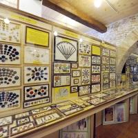 """Foto Nicoloro G. 03/01/2012 Santarcangelo di Romagna ( Rimini ) Primo ed unico in Italia """" Museo del bottone """", ricco di 8500 pezzi provenienti da tutto il mondo. nella foto Un angolo del museo"""
