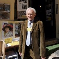 """Foto Nicoloro G. 03/01/2012 Santarcangelo di Romagna ( Rimini ) Primo ed unico in Italia """" Museo del bottone """", ricco di 8500 pezzi provenienti da tutto il mondo. nella foto Giorgio Gallavotti"""