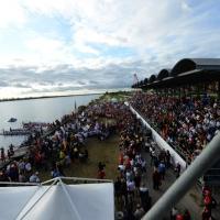 Foto Nicoloro G.  02/09/2014   Ravenna   Nona edizione dell' IDBF,  Campionati Mondiali per club di di Dragon Boat. Partecipano 27 nazioni, 5300 atleti, 129 club che gareggeranno nelle tre categorie Open maschili, femminili e misti. nella foto una folla straripante sulle tribune.