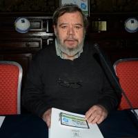 """Foto Nicoloro G. 27/01/2014   Milano  17° edizione del premio """" L' Altropallone """". nella foto il giornalista Gianni Mura"""
