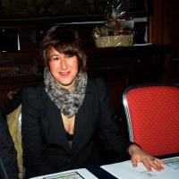 """Foto Nicoloro G. 27/01/2014   Milano  17° edizione del premio """" L' Altropallone """". nella foto l' assessore Cristina Stancari."""
