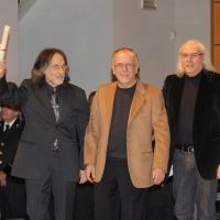 Foto Nicoloro G. 07/12/2011 Milano Tradizionale consegna degli Ambrogini d' oro, massima onorificenza cittadina. nella foto La PFM (Premiata Forneria Marconi)