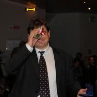 Foto Nicoloro G. 07/12/2012 Milano Tradizionale cerimonia di consegna delle civiche benemerenze del Comune di Milano nel giorno di S. Ambrogio. nella foto Giovanni Pareschi