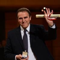 Foto Nicoloro G.  07/12/2013  Milano  Assegnati gli Ambrogini d' oro e le Menzioni speciali ai cittadini che più si sono distinti nelle rispettive attività. nella foto il campione di basket Carlo Recalcati.