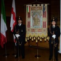 Foto Nicoloro G.  07/12/2014    Milano    Tradizionale cerimonia della consegna degli Ambrogini da parte del Comune di Milano. nella foto lo stendardo del Comune di Milano.
