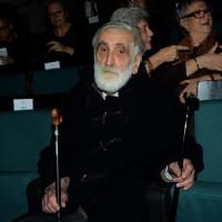Foto Nicoloro G.  07/12/2014    Milano    Tradizionale cerimonia della consegna degli Ambrogini da parte del Comune di Milano. nella foto il designer Enzo Mari.