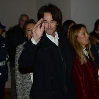 Foto Nicoloro G.  07/12/2014    Milano    Tradizionale cerimonia della consegna degli Ambrogini da parte del Comune di Milano. nella foto il cantautore Alberto Fortis.