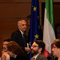 Foto Nicoloro G.  07/12/2014    Milano    Tradizionale cerimonia della consegna degli Ambrogini da parte del Comune di Milano. nella foto il sindaco Giuliano Pisapia.