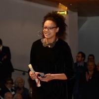 Foto Nicoloro G.  07/12/2014    Milano    Tradizionale cerimonia della consegna degli Ambrogini da parte del Comune di Milano. nella foto la pallavolista Valentina Diouf.
